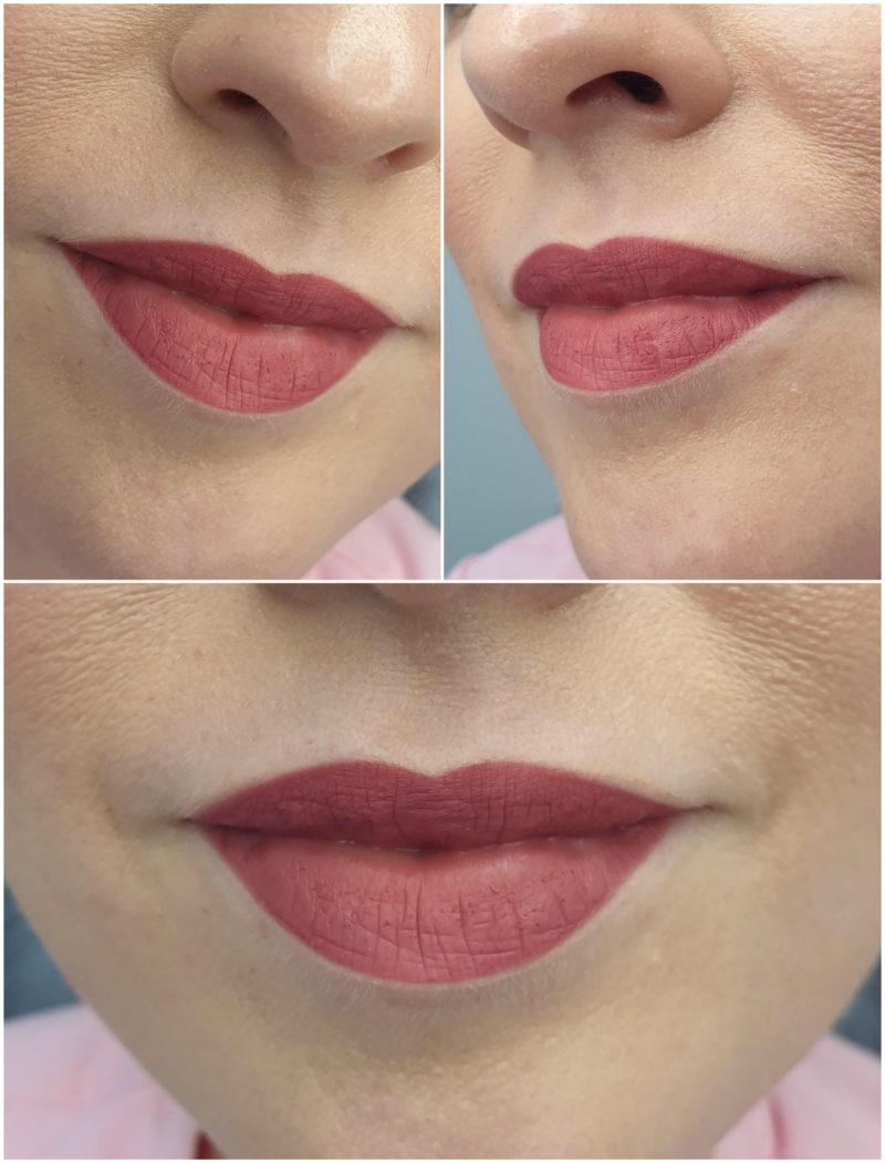Rysunek wstępny przed makijażem permanentnym
